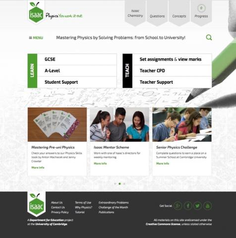 Isaac Homepage