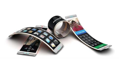 Flexible-display phone (Philips)