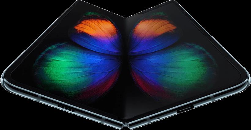 Flexible-display phone (Samsung)